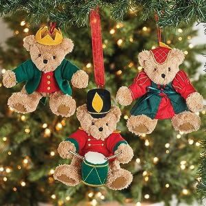 teddy bear for kids christmas tree ornament