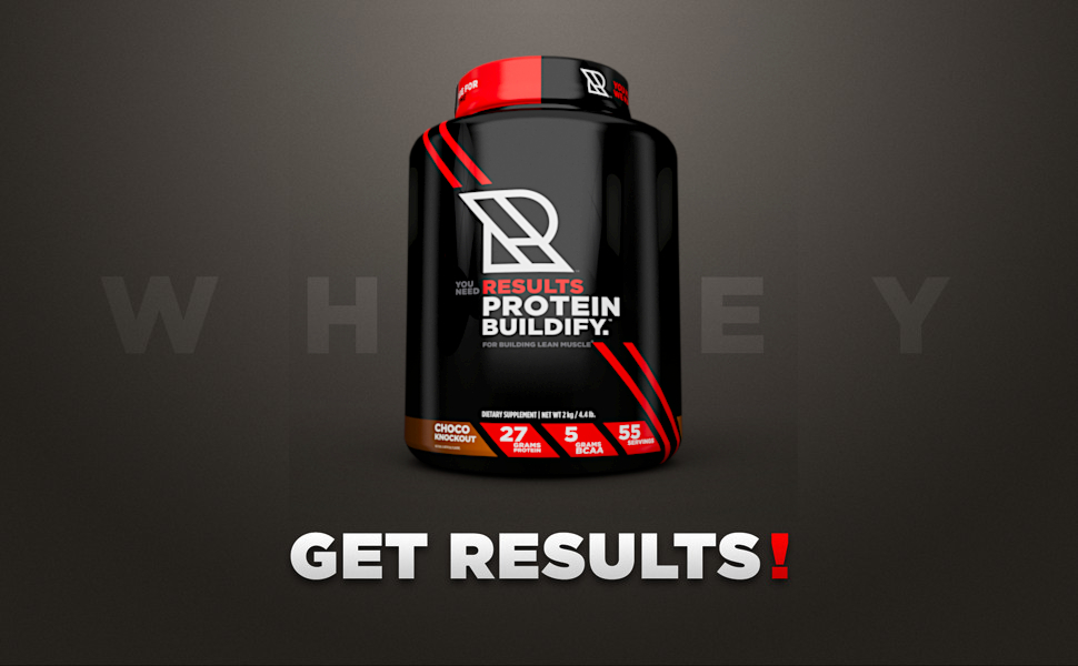 whey protein powder buldify results isolate concentrate training workout muscle