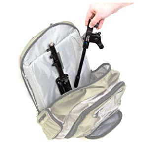 gostand fits in a backpack