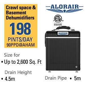 Basement/Crawl space Dehumidifier