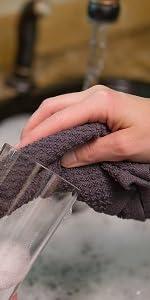 Gray Dishcloths dish towel