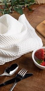 waffle kitchen towels