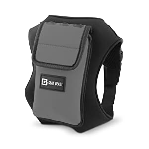 b67aa34599 Gear Beast Running Backpack Vest Cell Phone and Accessories Holder ...