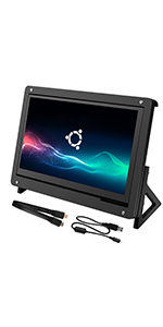 7 inch touch screen with protective case