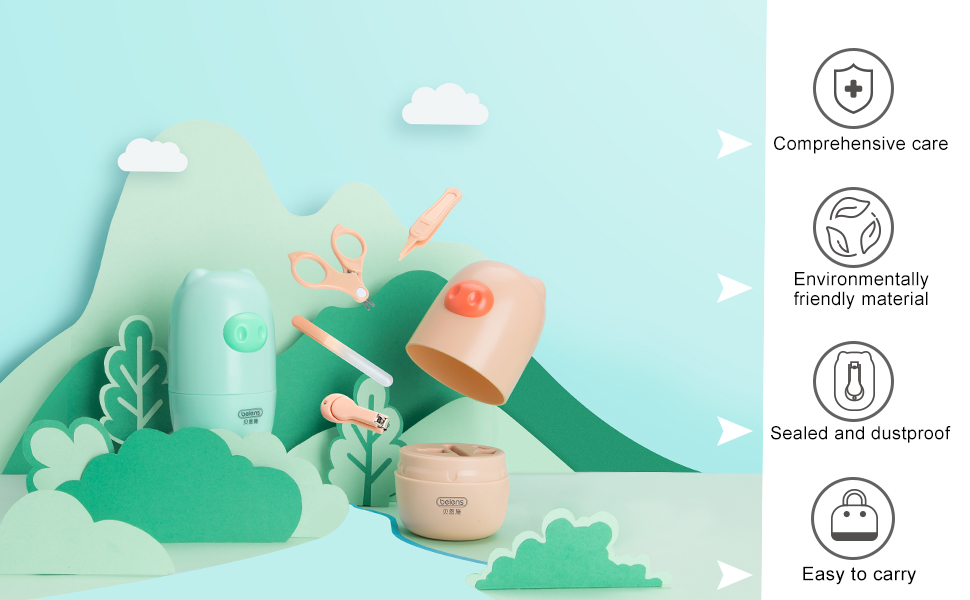 beiens baby nail kit