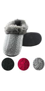 women indoor clog house slippers