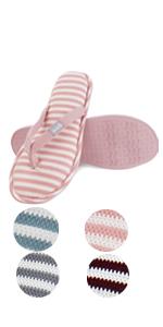 women spa slides thong home indoor bedroom summer slippers