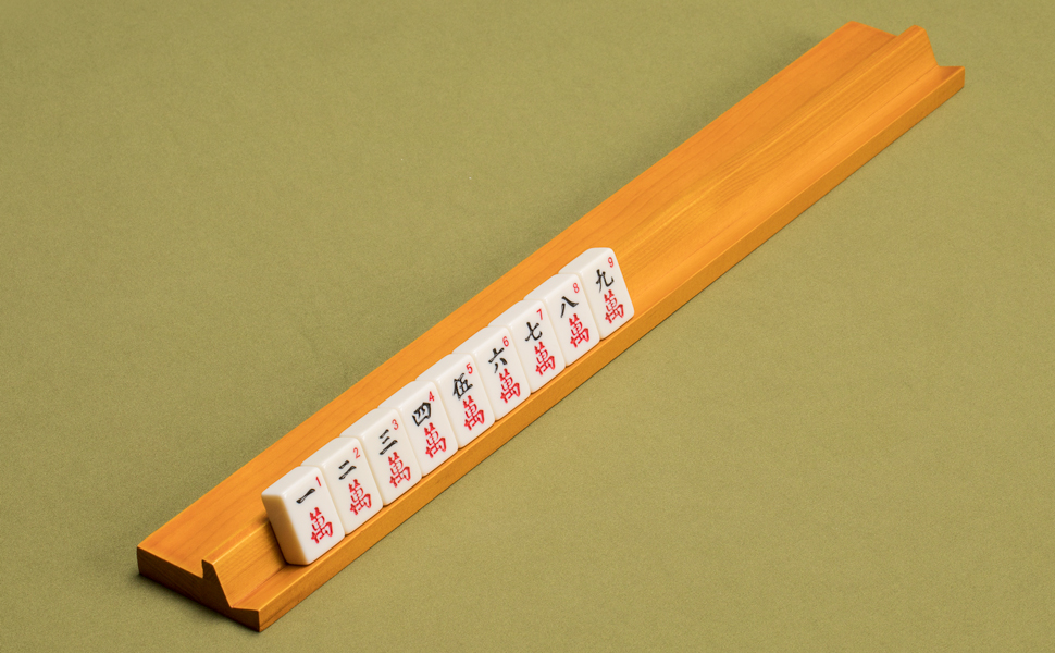 Amazon Com Yellow Mountain Imports Classic Wooden Mahjong