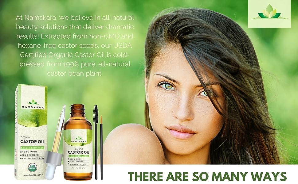 Amazon.com: Aceite de ricino orgánico, certificado USDA, 100 ...