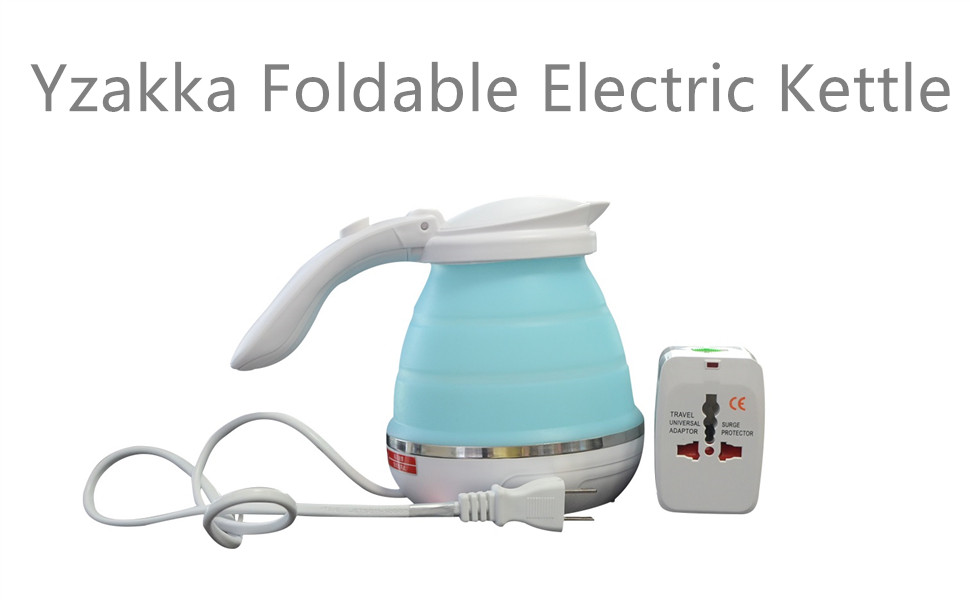 Amazon Com Yzakka Foldable Electric Kettle Tea Kettle For