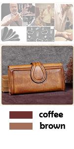 Amazon.com: Carteras para mujer de cuero hecho a mano ...