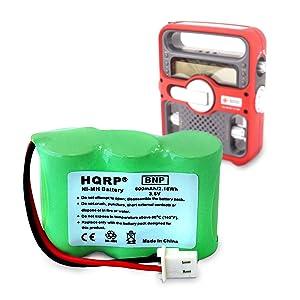 Amazon com: HQRP Battery for Eton / GRUNDIG FR200-BAT, FR200