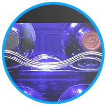 Antarctic Star 17 Bottle Wine Cooler/Cabinet Refigerator
