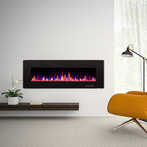 Amazon Com Antarctic Star 50 Recessed Electric Fireplace Built In