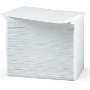 Bodno Cr80 30 Mil 100 Blank White PVC Cards