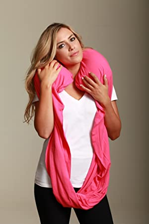 Amazon Com Sleeper Scarf 2 In 1 Travel Scarf And