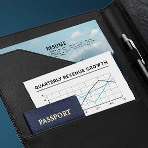 legal document organizer executie notebook notepad pad folder