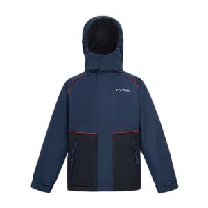 Girl's Waterproof Jacket Outdoor Windbreaker