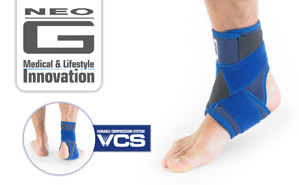 920b1bbd1c The Neo G Ankle Support with Figure of 8 Strap is designed to help provide  dynamic support around the ankle complex. The adjustable figure of 8 strap  helps ...