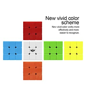 Stickerless Magic Cube