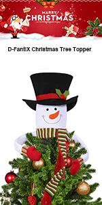Amazon Com D Fantix Fabric Christmas Tree Advent Calendar 2018