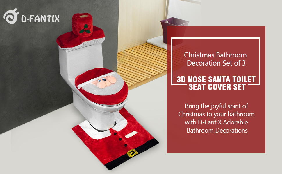 Looking For A Adorable And Festive Addition To Your Holiday Decorating The Bathroom How About That Extra Special Touch Guest