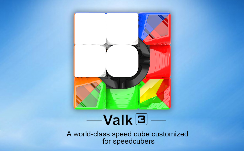 Take This COOL Cube Home. Absolutely A Great Puzzle Cube For Your Cube  Collection. D FantiX QiYi Valk 3 3x3 Speed Cube. It Is A Classic  Colour Matching ...
