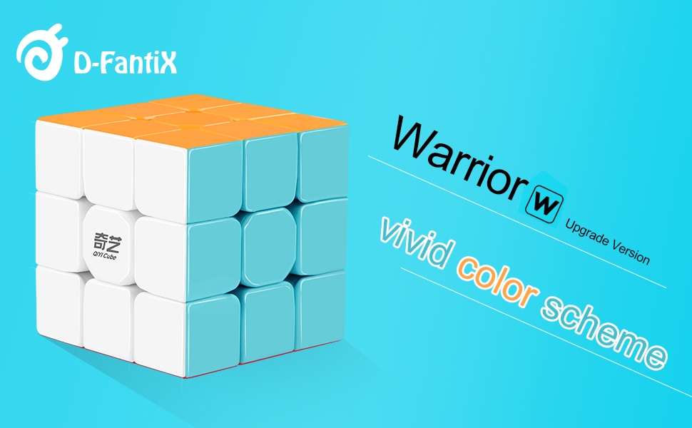 Take This COOL Cube Home. Absolutely A Great Puzzle Cube For Your Cube  Collection. D FantiX QiYi Warrior W 3x3 Speed Cube (Upgrade Version).