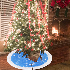 this 37 tree skirt by holiday time provides a fashionable and festive way to accent and add to the decor of your christmas tree - Holiday Time Christmas Tree