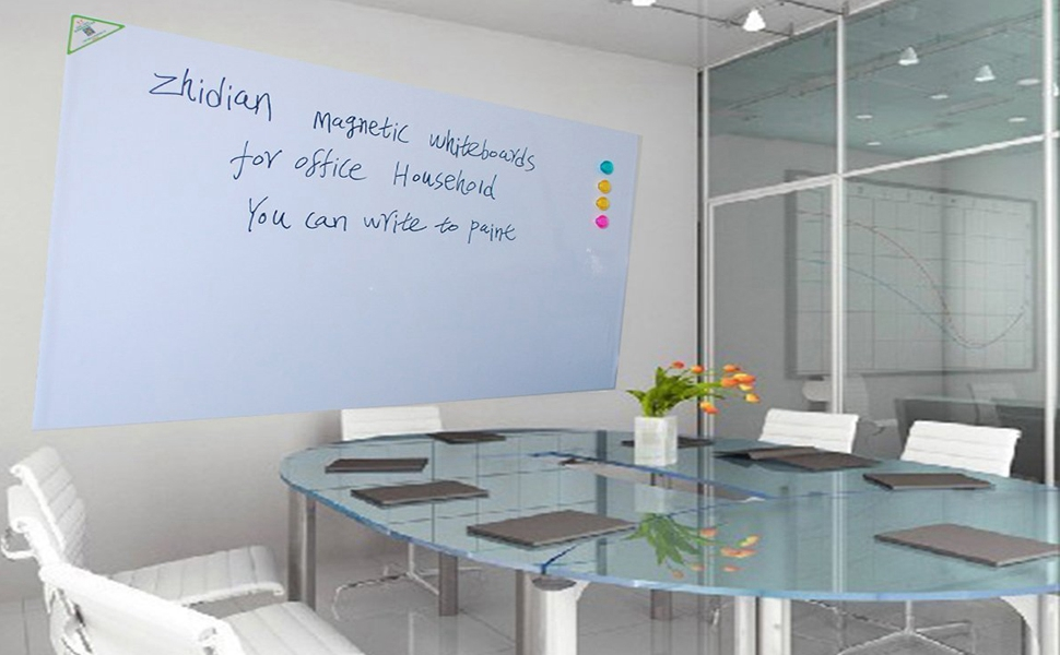 Amazon Com Zhidian Magnetic White Boards Dry Erase Boards Wall