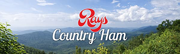 Rays Country Ham Logo, Country Ham, Blue Ridge Mountain Cured North Carolina Country Ham