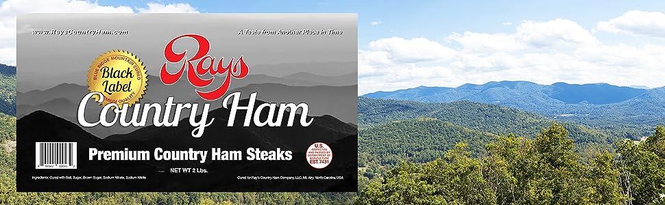 Premium Country Ham Steaks