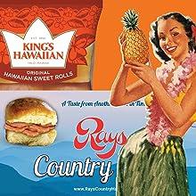 Hawaiian Sweet Rolls and Rays Country Ham