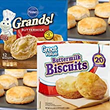 Grands and Great Value Buttermilk Biscuits