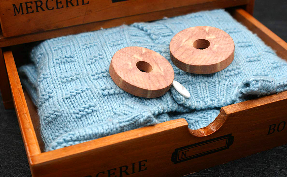 Amazon.com: Coolrunner 24 unidades de anillos de madera de ...