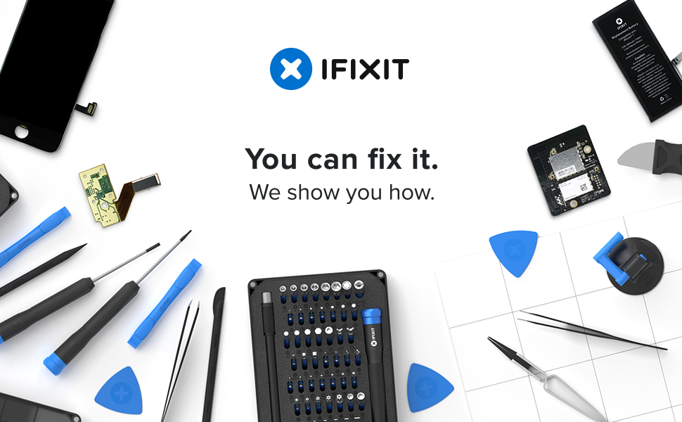 ifixit pro tech toolkit electronics smartphone computer tablet repair kit. Black Bedroom Furniture Sets. Home Design Ideas