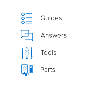 iFixit guides, answers, tools, parts