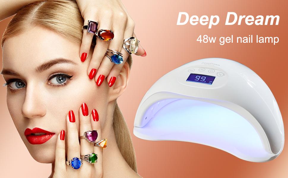 Amazon Com Deepdream 48w Gel Nail Lamp Uv Led Dryer