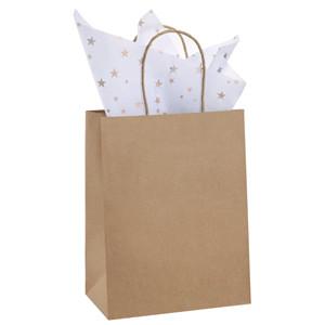 Amazon Com Paper Bags 8x4 75x10 5 100pcs Bagdream Gift