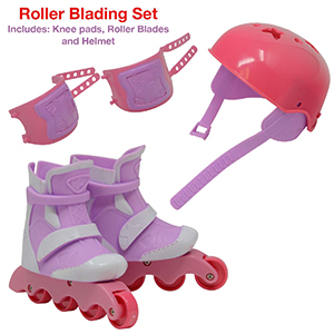 276 Dolls Accessories Doll Roller Skates Sport Shoes Doll Inline Skates 7 cm long