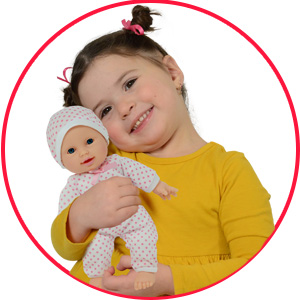 11 inch soft baby doll for 1 year old