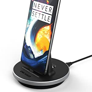 Encased Charging Stand for OnePlus 7 Pro/OnePlus 6T Charger Dock - Supports USB C Fast Charging (18W-30W) (Wall Adapter Sold Separately)