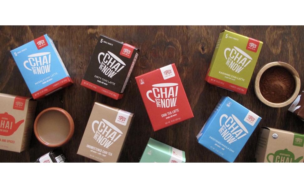 Tipu's Chai boxes