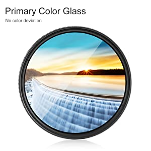 GuiPing 37mm ND Fader Neutral Density Adjustable Variable Filter ND2 to ND400 Filter Durable