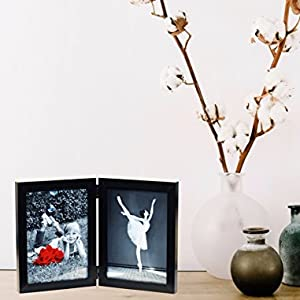 double picture frame for 5x7 4x6 8x10 11x14 inch photos tasse verre living room shelf table desk