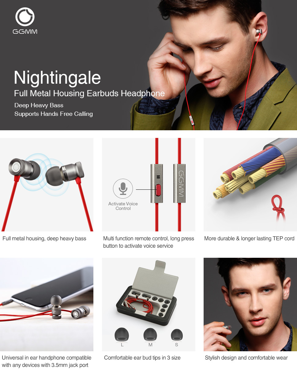Amazon.com: GGMM Nightingale - Auriculares in-ear, color ...