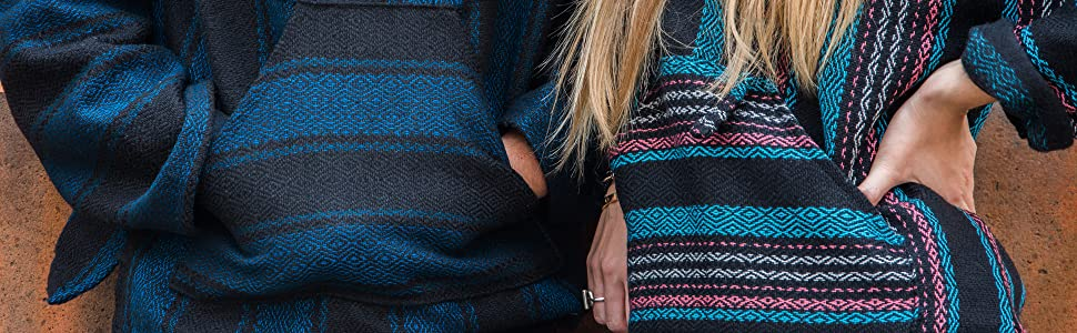 Amazon Com Orizaba Original Baja Hoodie 40 Colors Drug Rug