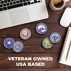 Attacoin is a Veteran Owned Business based in the United States.
