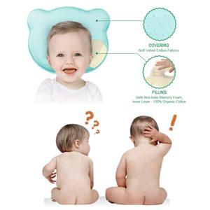 Amazon.com: Zinnor Cojín de espuma viscoelástica para bebé ...