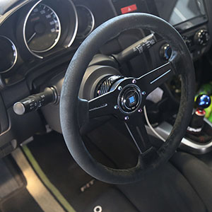 Kyostar Real Carbon Fiber Steering Wheel Quick Release Hub Adapter Boos Kit Blue